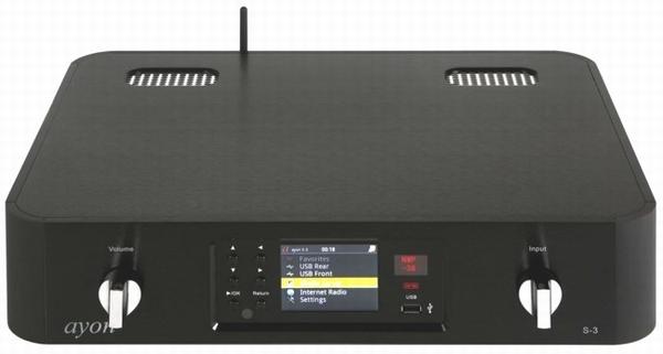AYON Audio S3 Buizen Streamer / DAC / Voorversterker