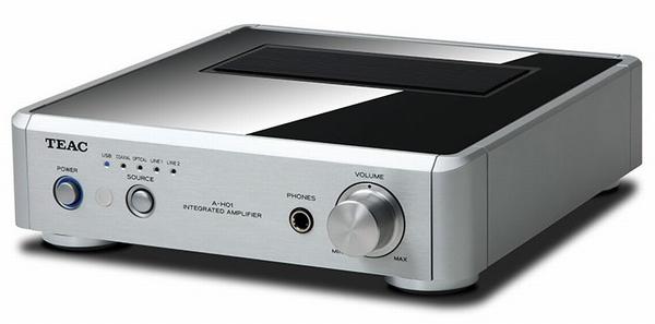 TEAC A-H01 USB DAC en Stereo Versterker