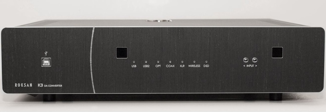 ROKSAN K3 DAC - PCM & DSD - demo model