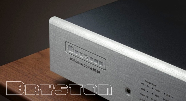 BRYSTON BDA-3 D/A Converter